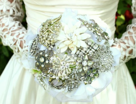 Button Bouquet 2