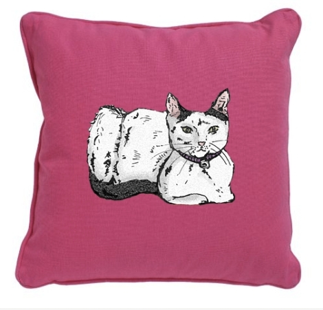 Cat Cushion Preview