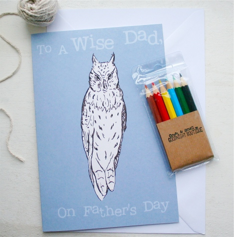 Owl Father's Day Card 1