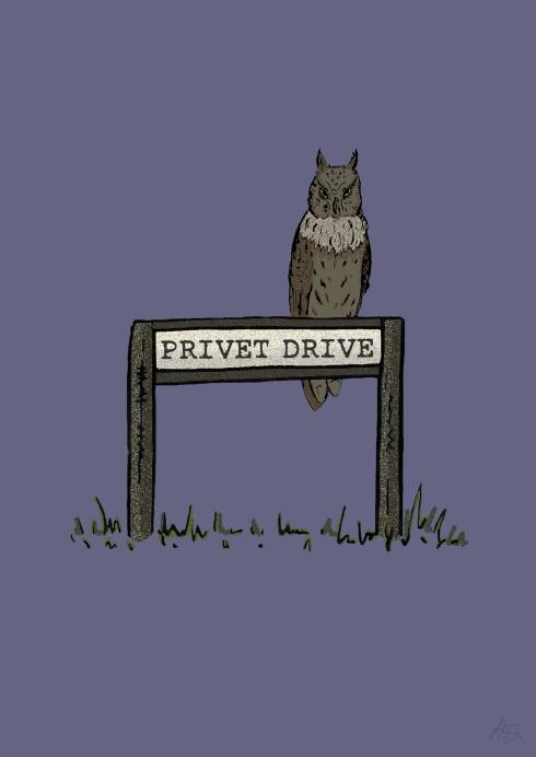 Privet Drive Sign