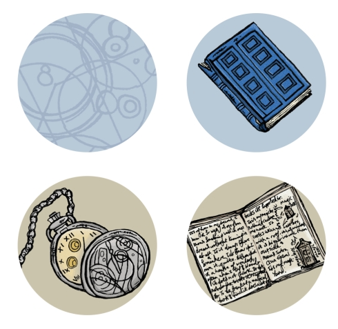 Dr Who Pocket Mirrors