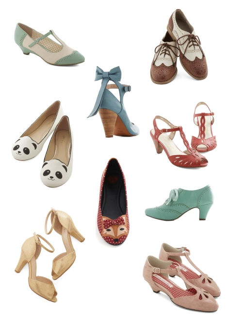 Modcloth Shoes For Blog