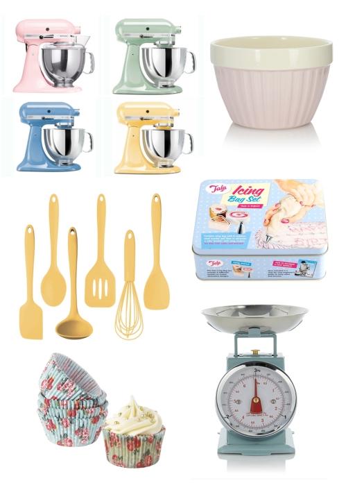 Pastel Baking Goods